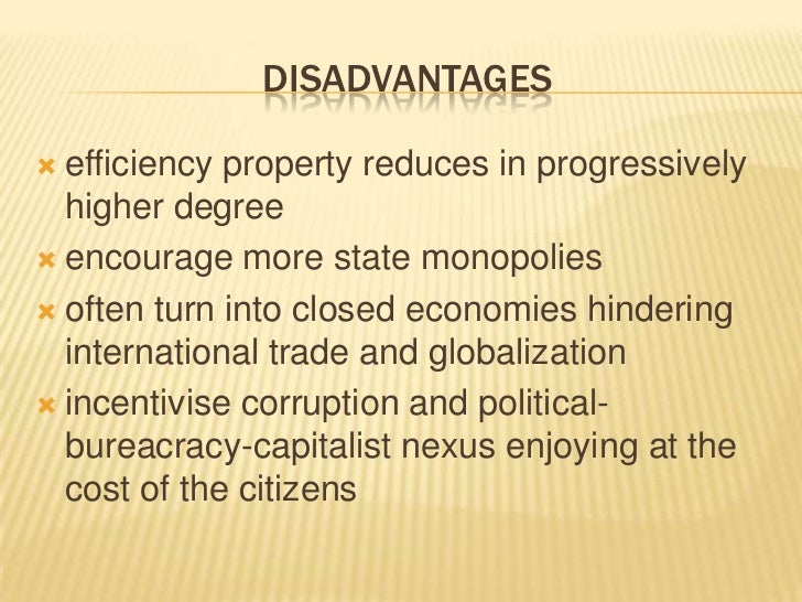 advantages and disadvantages of mixed economy This post look mainly at the advantages and disadvantages of a mixed economy but first we will define mixed economy the mixed economy there are economic systems that help us understand a.