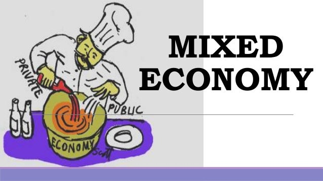 salient features of mixed economy