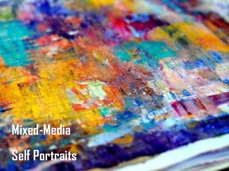 Mixed Media Symbolic Self Portraits