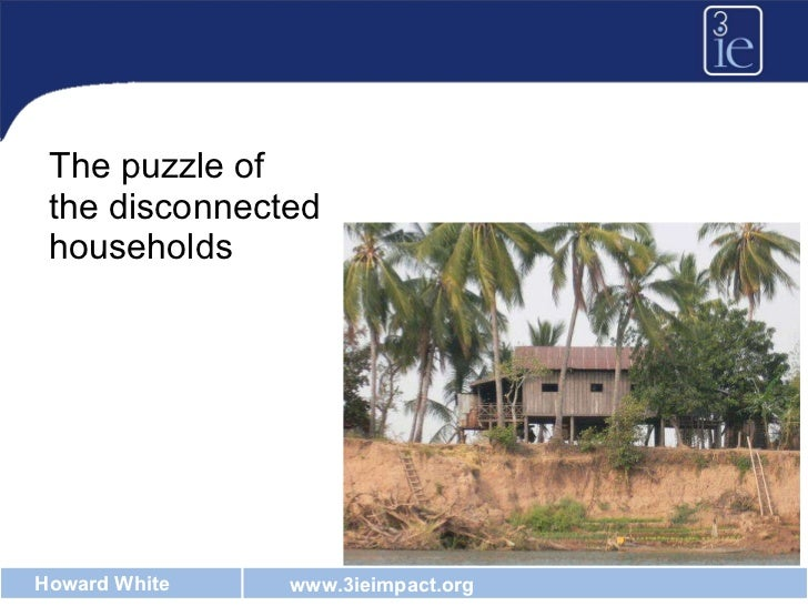 <ul><li>The puzzle of the disconnected households </li></ul>