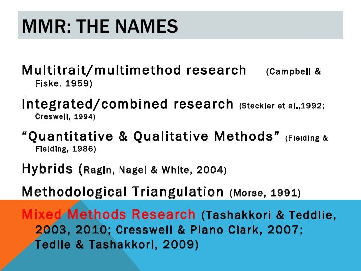 Mixed methods research2012 Slide 2