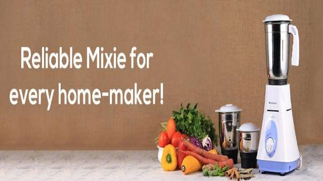 Wonderchef Vietri Mixer Grinder a. Every home-maker wants a reliable mixer-grinder which does not break down again and aga...