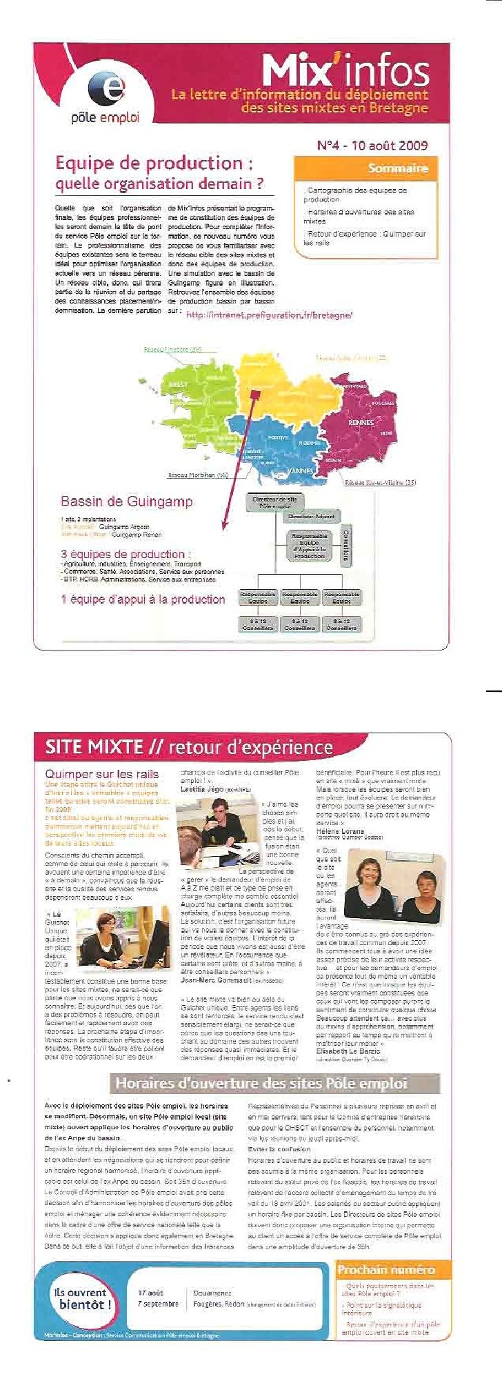 Mixinfos 4 du 10 Aout 2009
