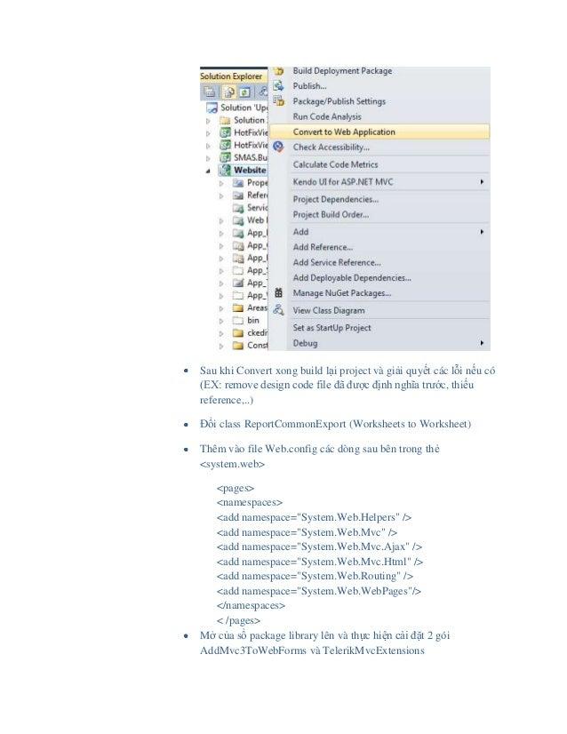 Mixing asp.net mvc & web form into hybrid project Slide 3