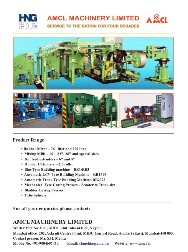 Special Supplement - Rubber Machinery World SEP 2015    MIXING MILL   Automation and Integration All your mechanical impro...
