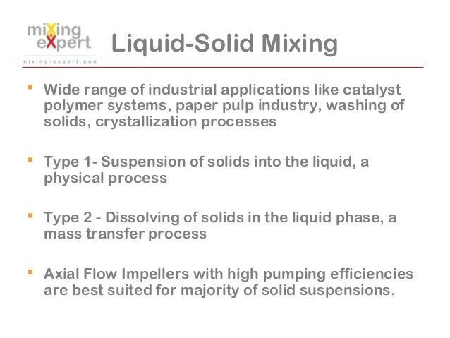 mixing liquids and solids Some liquids mix with other liquids 2 some liquids don't mix with other liquids, but instead float on top and make layers like the water and oil mixture below.