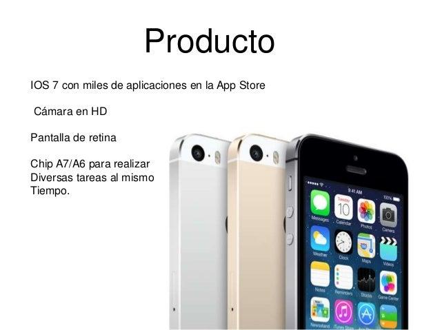 Mix marketing (Producto) Slide 2