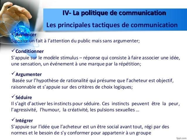 la politique de la communication pdf