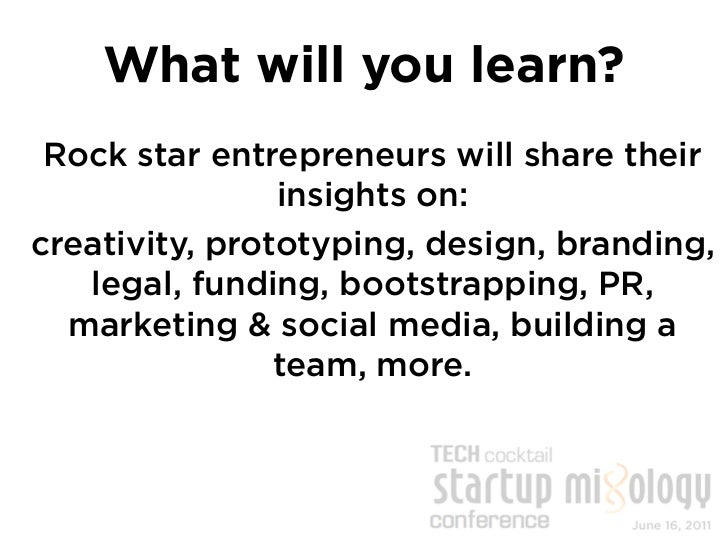 After Conference          Mixer Event10+ early stage, local startups will demo in              an expo style.  Network wit...