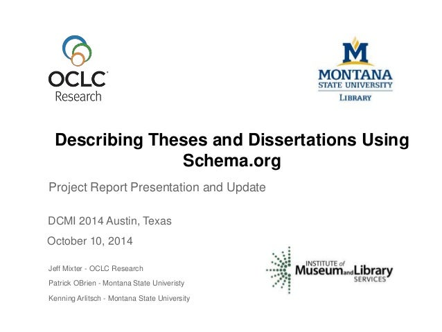 Thesis and dissertation website