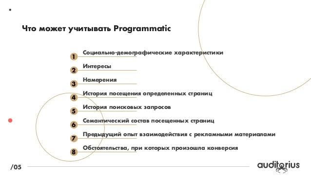 ´£ ¤€'…Ÿµ Ÿ ˜†¦ƒ€ Programmatic  †…‡ˆ ˜†ƒˆ™   ‡ˆ…ˆ‰ programmatic  ƒ '' †'¨'…  /04  › œ   / ›–  Œ – ›–  –›–...