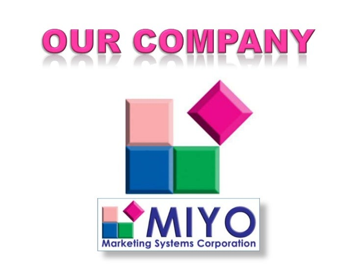 MIYO                  Make It Your Own        MIYO Food Products Resource, Inc. is a 100% Filipino-owned corporation engag...