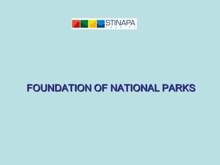 FOUNDATION OF NATIONAL PARKS