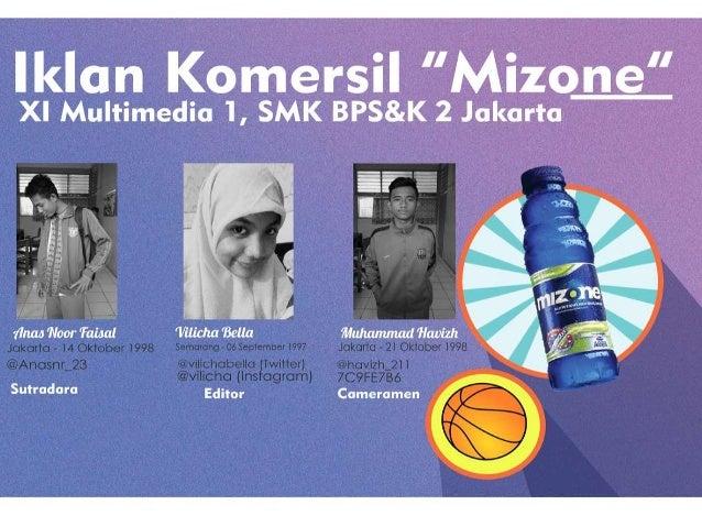 "lklan Komersil""Mizdne XI Multimedia 1, SMK BPS&K 2 Jakarta:  J                  1' u      _ ' .   7 Jakarto - ¡4 Oktober i..."