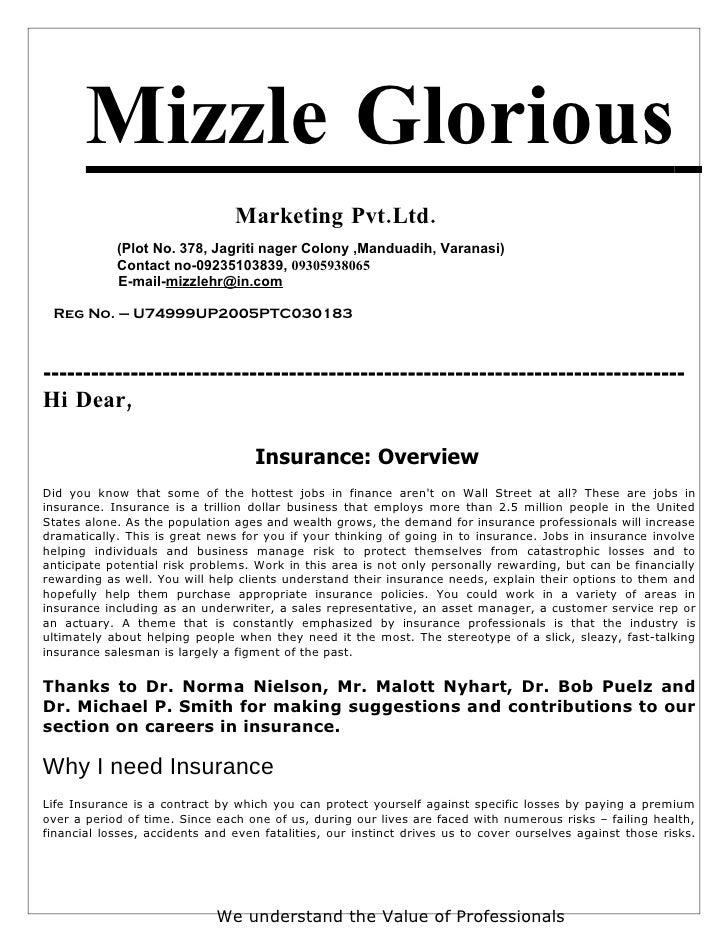 Mizzle Glorious                                 Marketing Pvt.Ltd.             (Plot No. 378, Jagriti nager Colony ,Mandua...