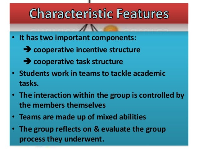 Collaborative Structures In The Classroom ~ Cooperative learning