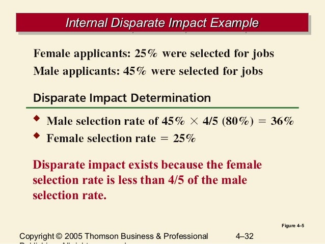 Disparate Impact Example Images Example Cover Letter For Resume