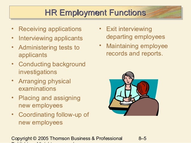 Chapter 8 Selecting Human Resources