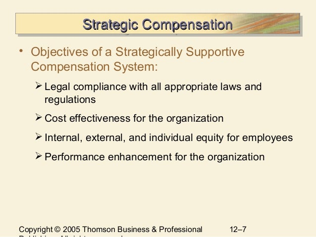 What Is a Compensation Strategy?