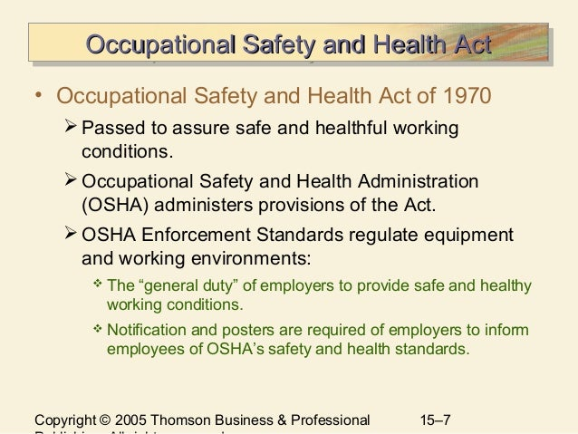 health safety and security Employee health, safety and securityfor smooth functioning of an organization, the employer has to ensure health, safety andsecurity of his employeesthus it fo.