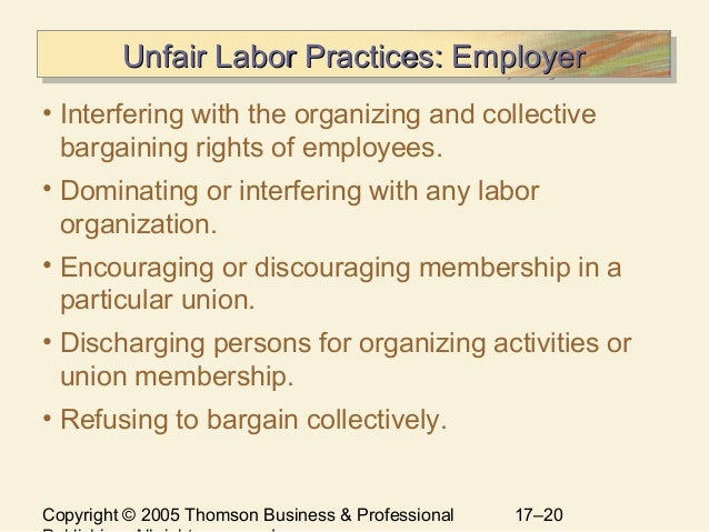 union management relationship Labor relations and best practices reinforce collective bargaining agreements and strengthen cooperation between union and management.