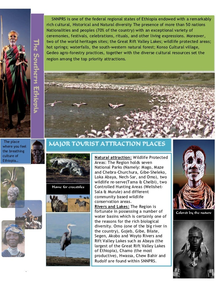 SNNPRS is one of the federal regional states of Ethiopia endowed with a remarkably                                        ...