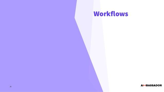 Workflows 26
