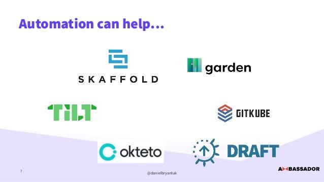 @danielbryantuk Automation can help… 7
