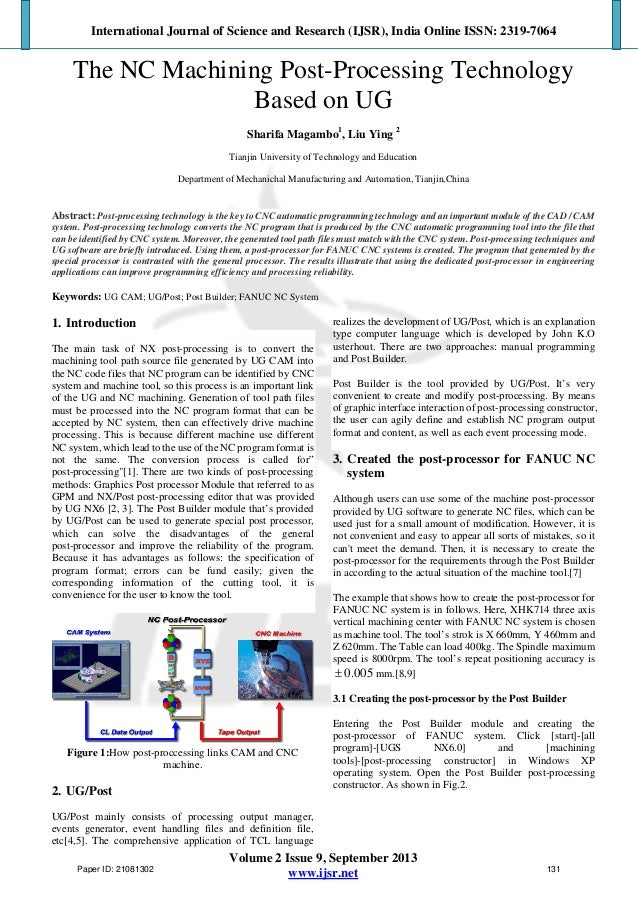 International Journal of Science and Research (IJSR), India Online ISSN: 2319-7064 Volume 2 Issue 9, September 2013 www.ij...