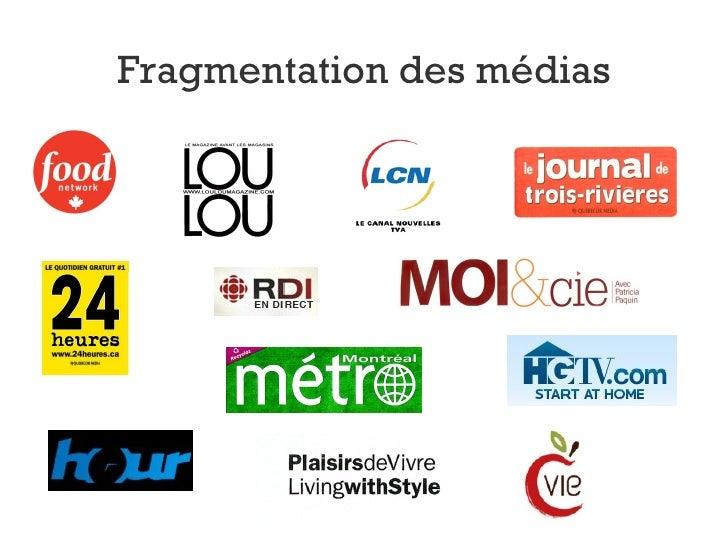 Fragmentation des médias