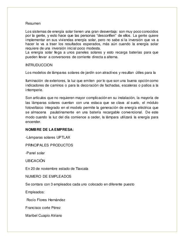 Proyecto Lampara Solar