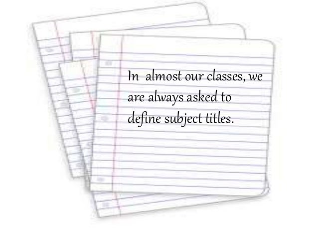 philosophy subject definition