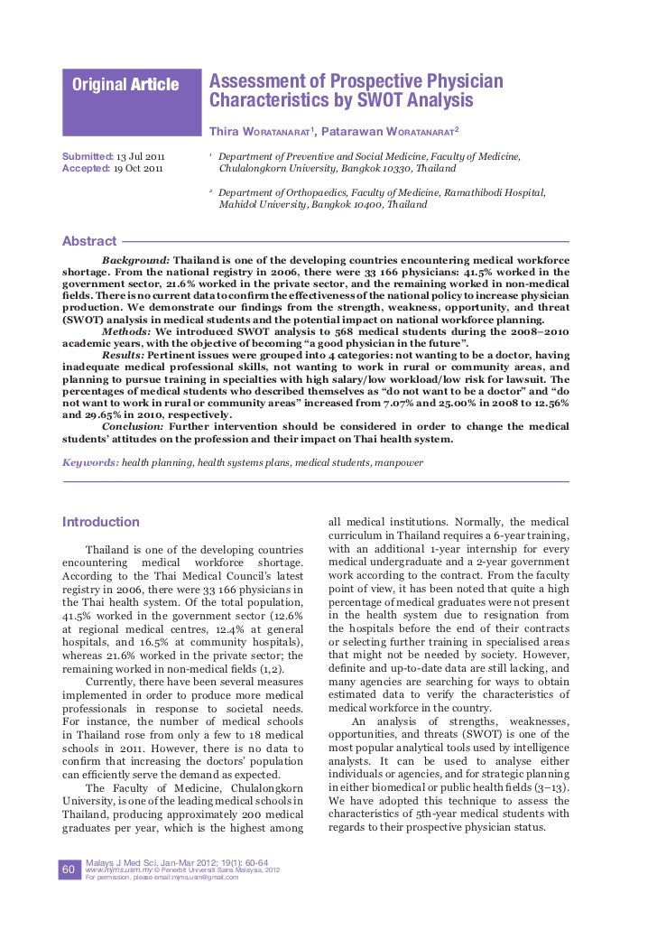 Original Article                         Assessment of Prospective Physician                                           Cha...