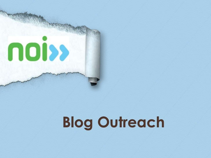 Blog Outreach