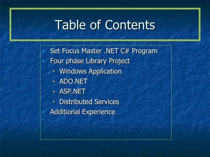 mjr net ppt portfolio template