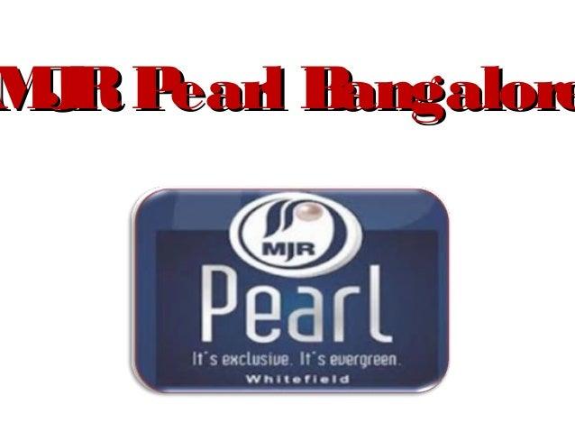 M RP J earl Bangalore