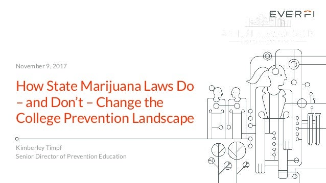 Everfi understanding the impact of state marijuana laws on campus pr november 9 2017 how state marijuana laws do and dont change fandeluxe Choice Image