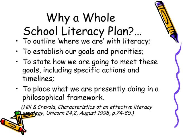 literacy plan Here is a cool lesson plan to help students improve speaking skills using technology and podcasting, mr van owen has his literacy students produce a podcast for peer critique.