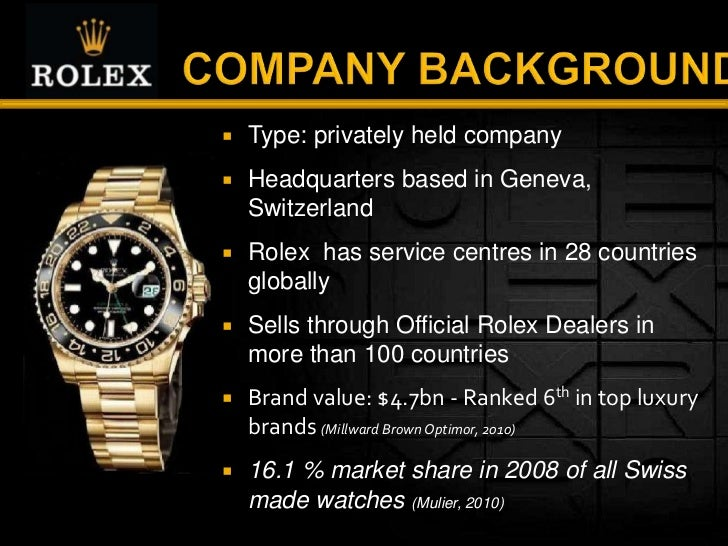 rolex branding Official rolex jeweler sheiban jewelers of cleveland, ohio is proud to be part of the worldwide network of official rolex jewelers, allowed to sell and maintain rolex watches.