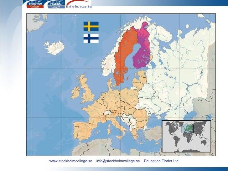 www.stockholmcollege.se  info@stockholmcollege.se  Education Finder Ltd