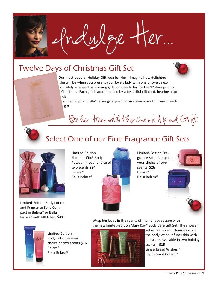 12 days of christmas romantic gift ideas for her