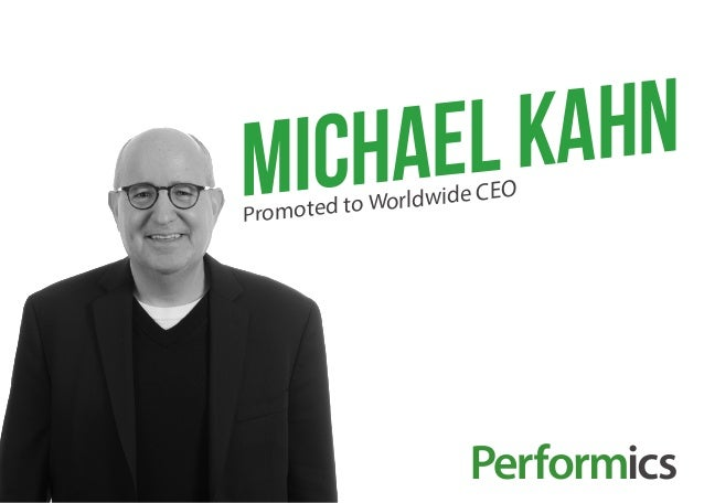 michaelkahn Promoted to Worldwide CEO