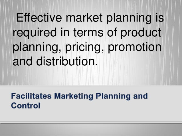 Marketing Controls