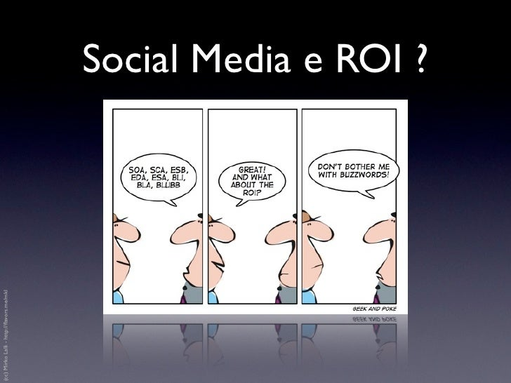 Social Media Marketing tracking & ROI Slide 2