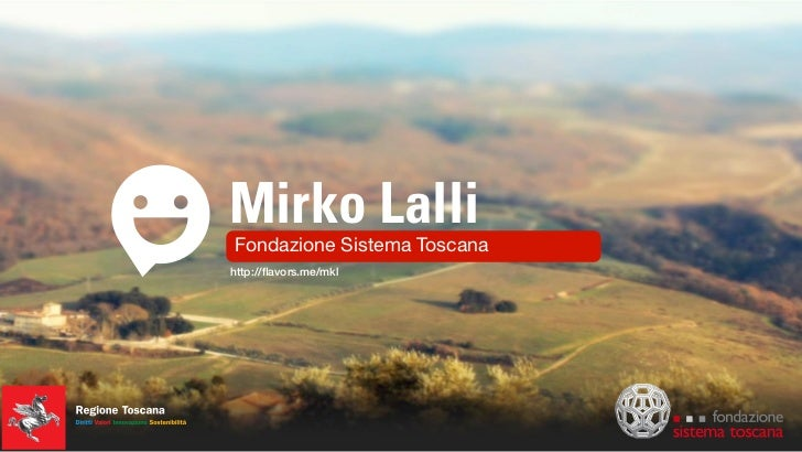 MIRKO LALLI - Internet Better Tuscany - 5 Maggio 2011