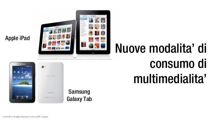 Apple iPad                                                                           Nuove modalita' di                   ...