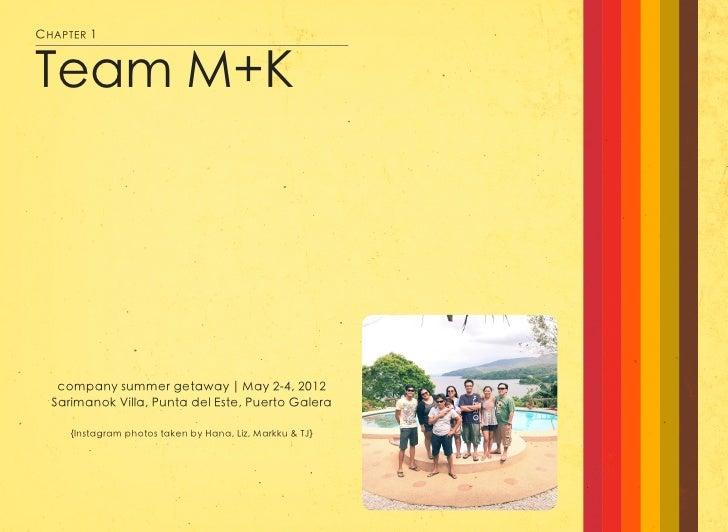 Team Mimi+Karl Summer 2012 Getaway Slide 2