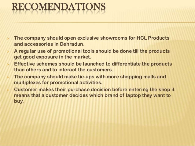 Presentation on HCL.....