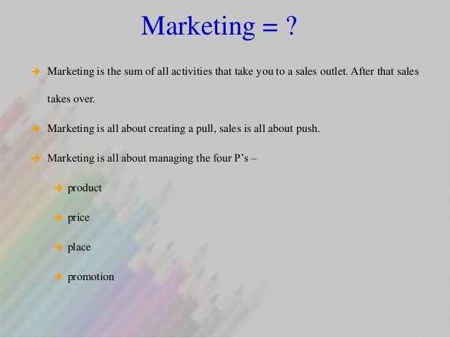 The Real Difference Between Sales and Marketing