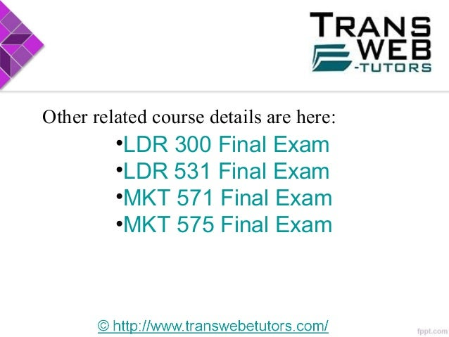 mkt 421 final exam Purchase entire course solutions and final exam answers.